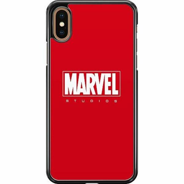 Apple iPhone XS Max Hard Case (Svart) Marvel Studios