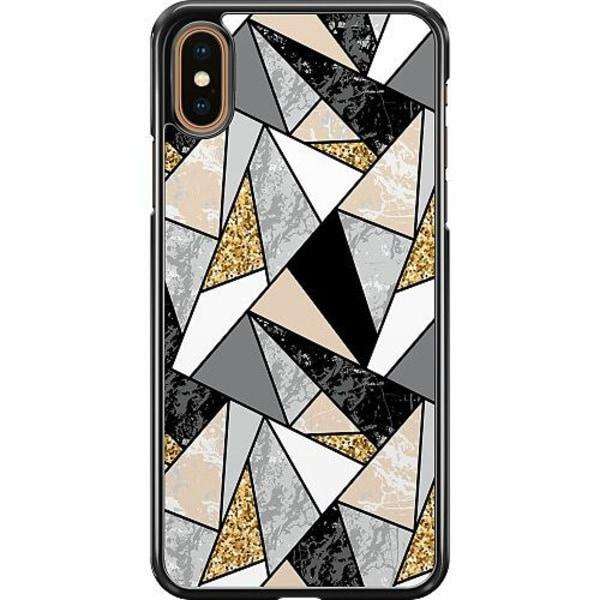 Apple iPhone XS Max Hard Case (Svart) Mönster