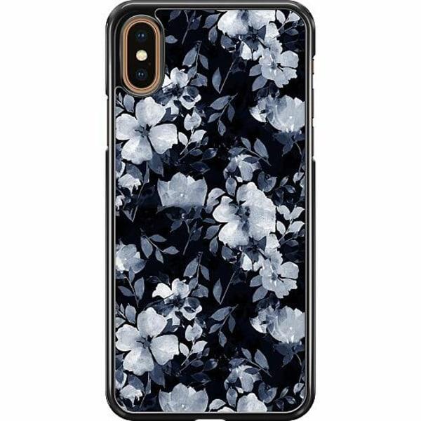 Apple iPhone XS Max Hard Case (Svart) Moonlight Meadow