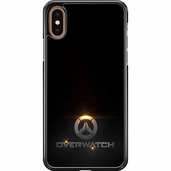 Apple iPhone XS Max Hard Case (Svart) Overwatch Logo