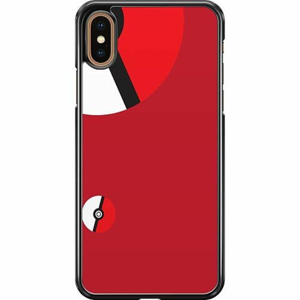 Apple iPhone XS Max Hard Case (Svart) Pokemon