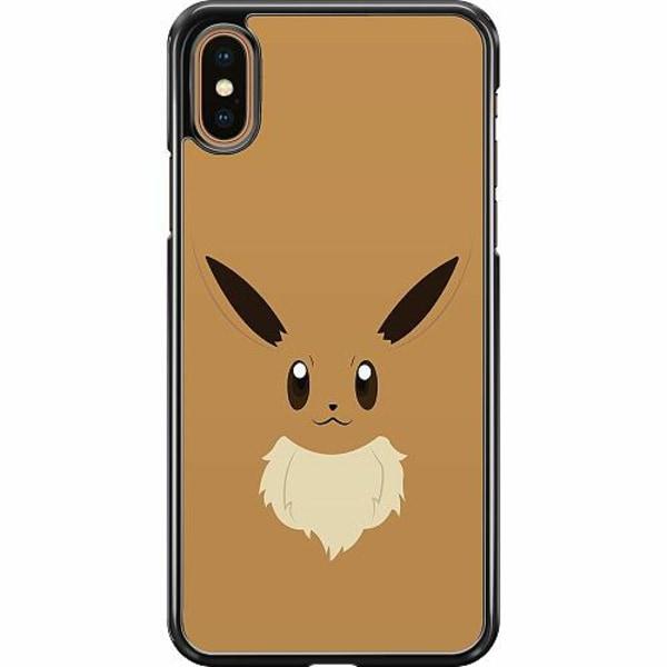 Apple iPhone XS Max Hard Case (Svart) Pokémon - Eevee