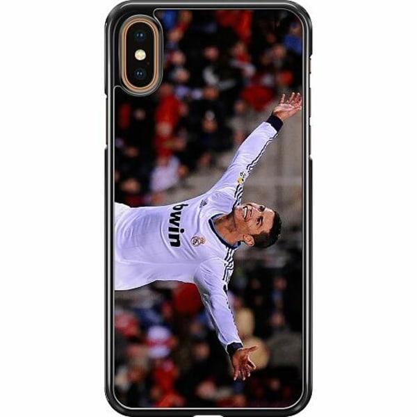 Apple iPhone XS Max Hard Case (Svart) Ronaldo