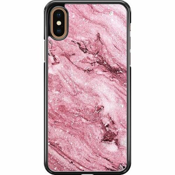 Apple iPhone XS Max Hard Case (Svart) Rosa