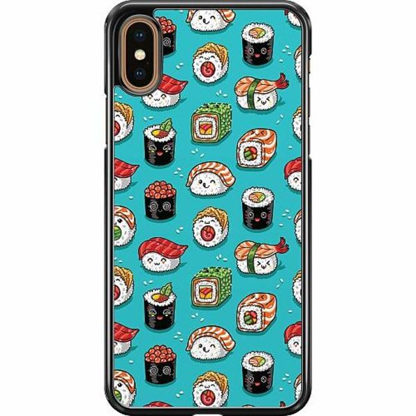 Apple iPhone XS Max Hard Case (Svart) Sushi