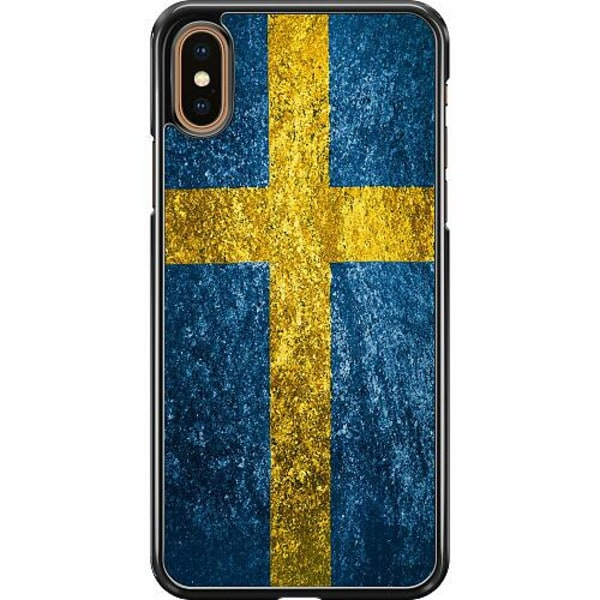 Apple iPhone XS Max Hard Case (Svart) Sverige