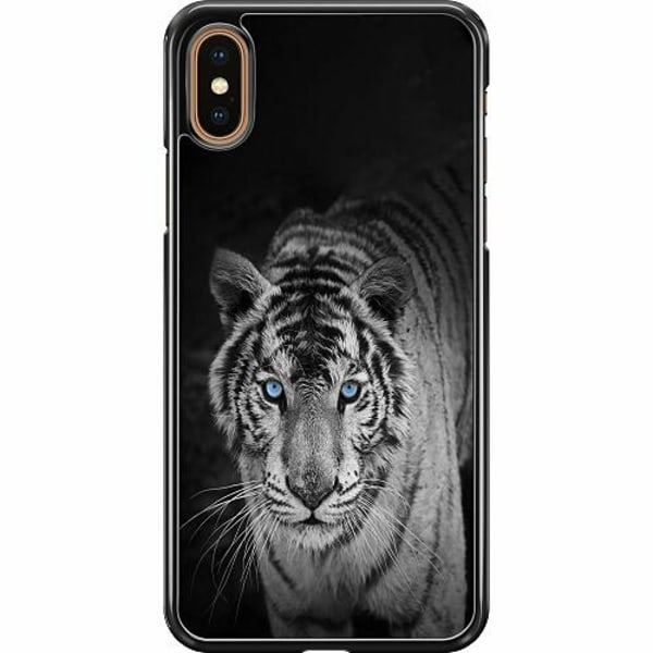 Apple iPhone XS Max Hard Case (Svart) Tiger