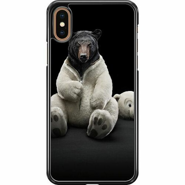Apple iPhone XS Max Hard Case (Svart) WTF