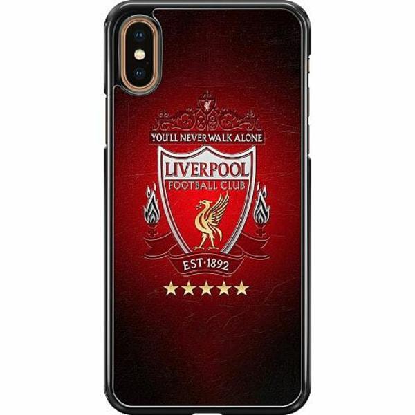 Apple iPhone XS Max Hard Case (Svart) YNWA Liverpool