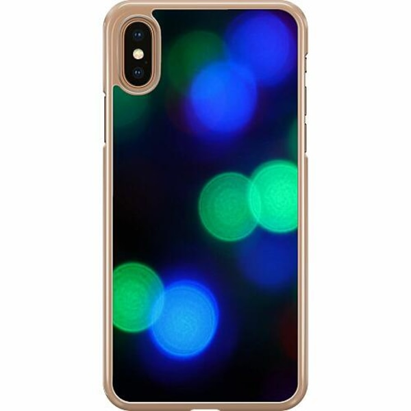 Apple iPhone XS Max Hard Case (Transparent) All Of The Lights