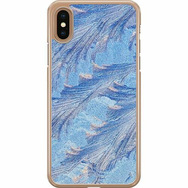 Apple iPhone XS Max Hard Case (Transparent) Arenaceous Feathers