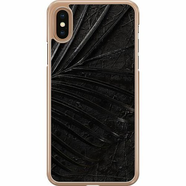 Apple iPhone XS Max Hard Case (Transparent) Charcoal Ash