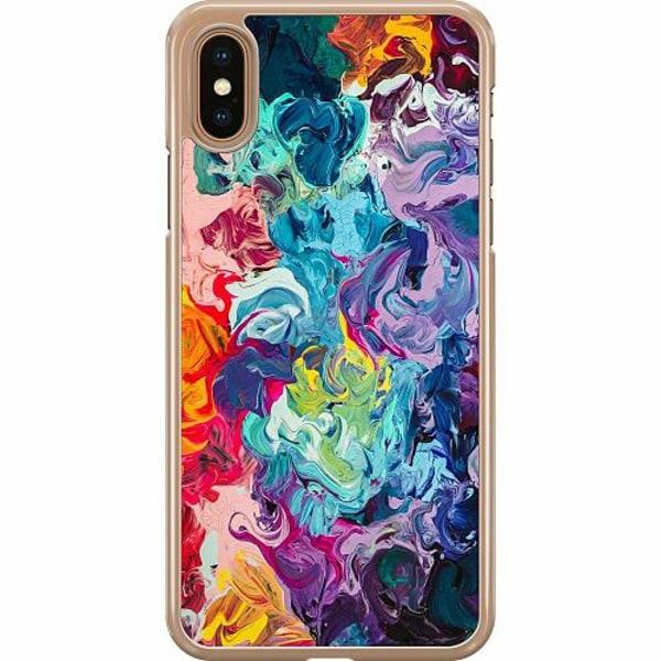 Apple iPhone XS Max Hard Case (Transparent) Färg