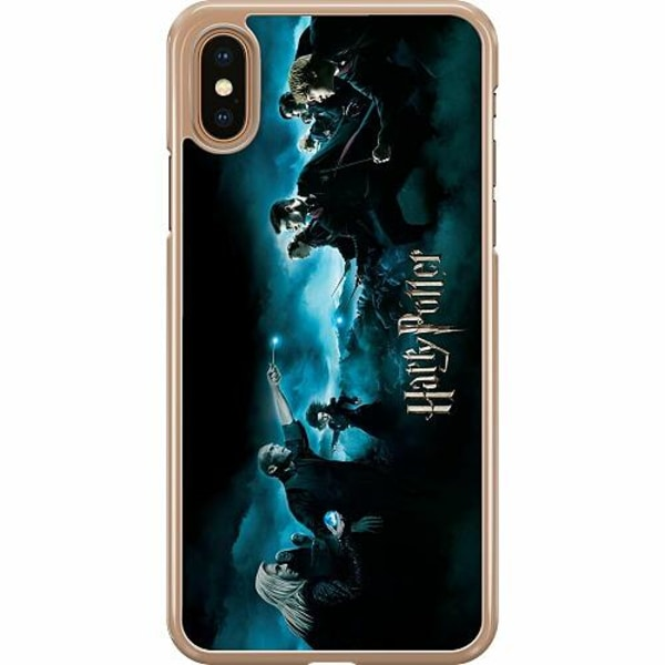 Apple iPhone XS Max Hard Case (Transparent) Harry Potter