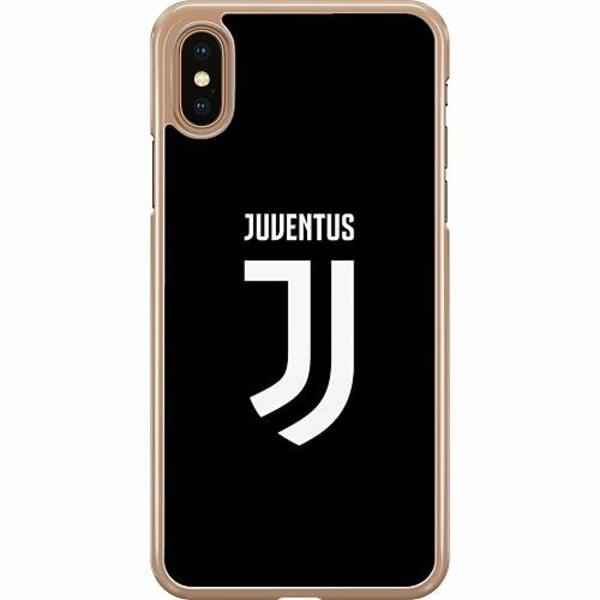 Apple iPhone XS Max Hard Case (Transparent) Juventus