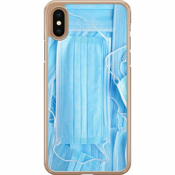 Apple iPhone XS Max Hard Case (Transparent) Keep 'Em Comin'