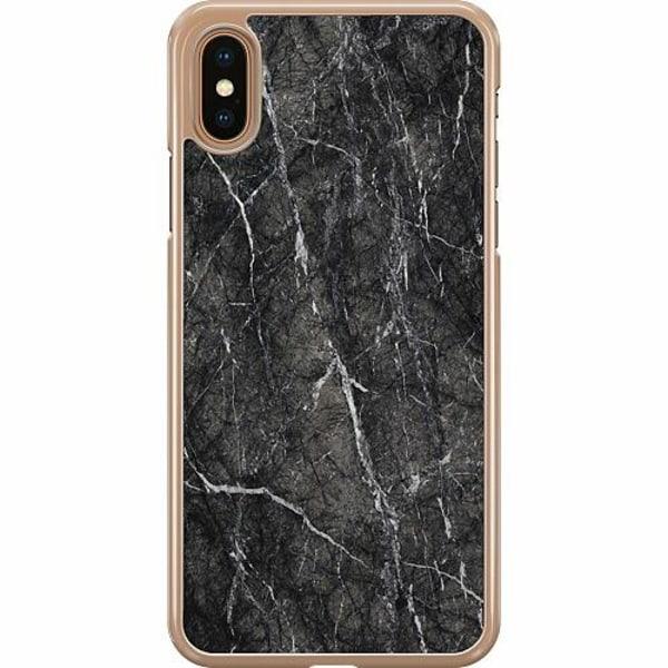 Apple iPhone XS Max Hard Case (Transparent) Marmor
