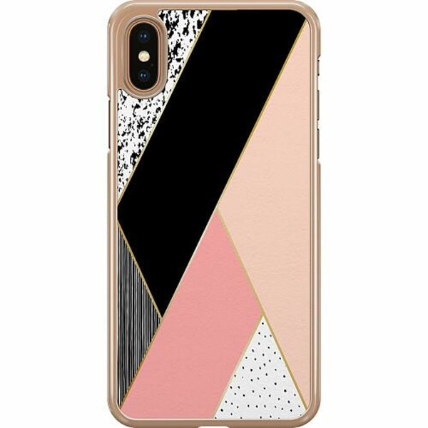 Apple iPhone XS Max Hard Case (Transparent) Mönster