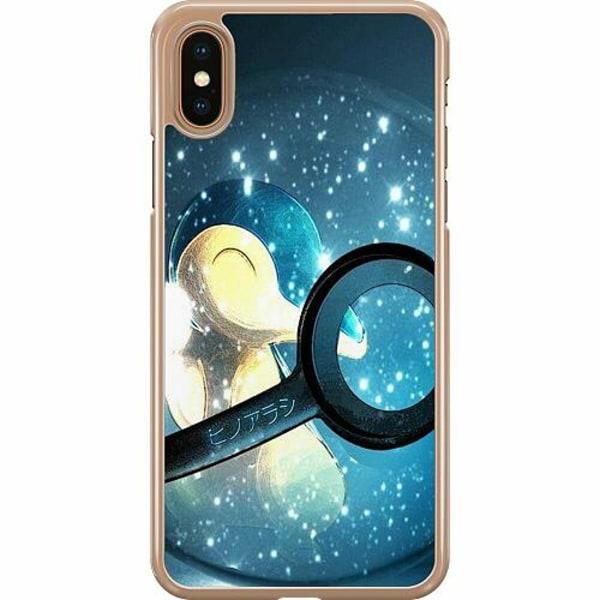 Apple iPhone XS Max Hard Case (Transparent) Pokemon