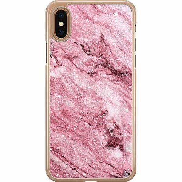Apple iPhone XS Max Hard Case (Transparent) Rosa