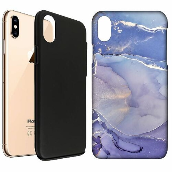 Apple iPhone XS Max LUX Duo Case (Matt) Azure Velour