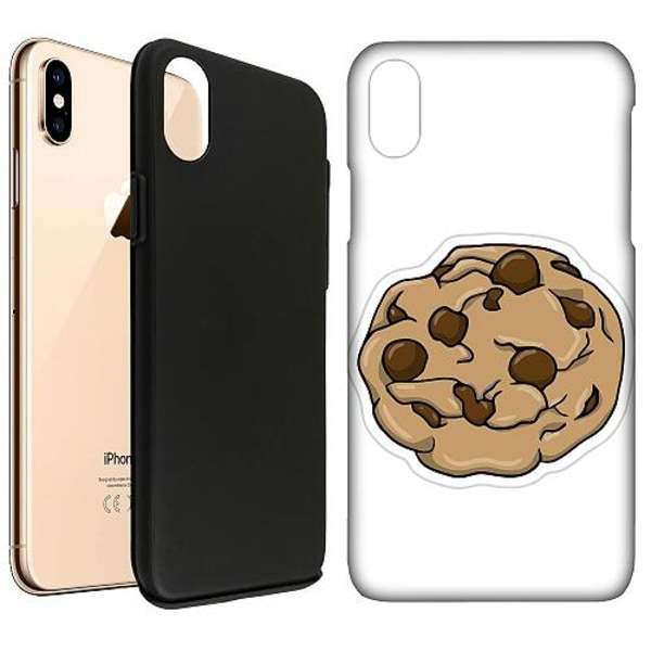 Apple iPhone XS Max LUX Duo Case (Matt) Cookie Crumbles