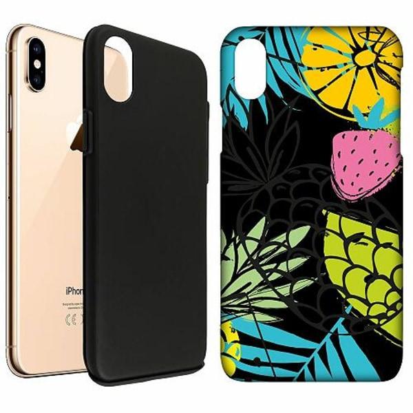 Apple iPhone XS Max LUX Duo Case (Matt) Favorable Fruit