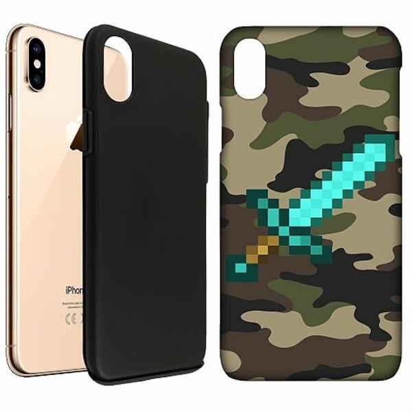Apple iPhone XS Max LUX Duo Case (Matt) Minecraft