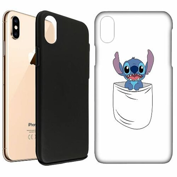 Apple iPhone XS Max LUX Duo Case (Matt) Pocket Stitchin'