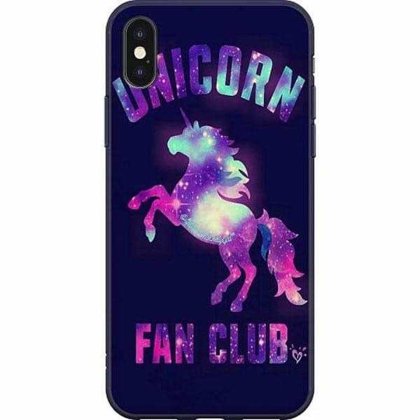 Apple iPhone X / XS Mjukt skal - Badass Unicorn