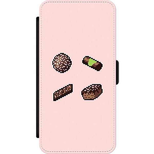 Apple iPhone 7 Wallet Slim Case Swedish FIKA pixel art
