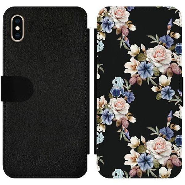 Apple iPhone XS Max Wallet Slimcase Floral
