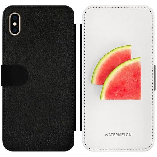 Apple iPhone XS Max Wallet Slimcase Watermelon