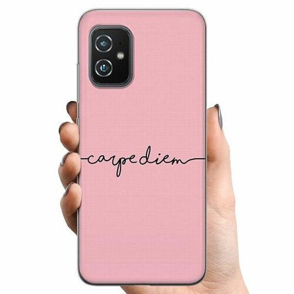 Asus Zenfone 8 TPU Mobilskal carpe diem