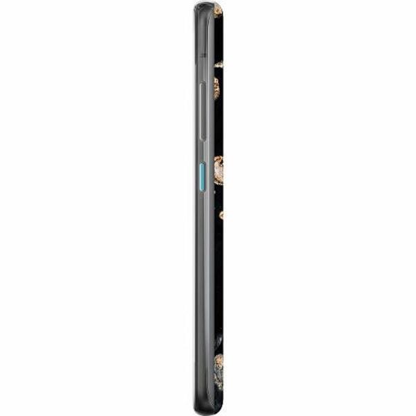 Asus Zenfone 8 TPU Mobilskal Galaxy Gold