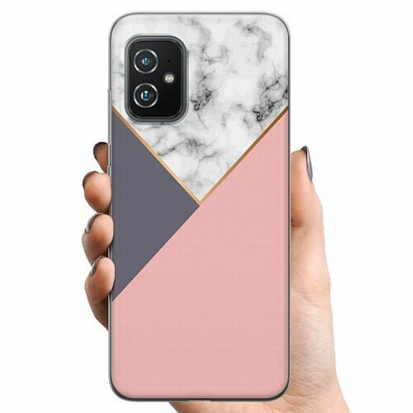Asus Zenfone 8 TPU Mobilskal Marble Cut