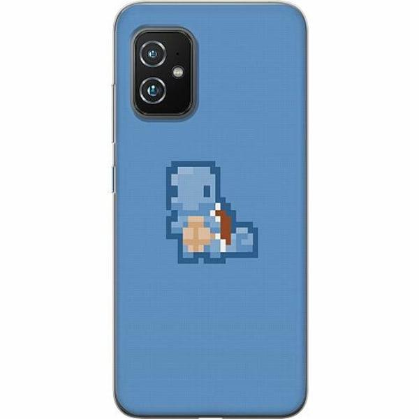 Asus Zenfone 8 TPU Mobilskal Pixel art Pokémon