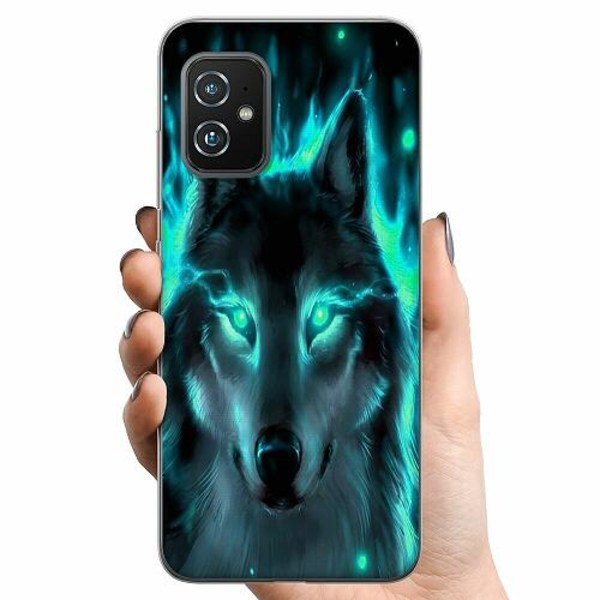 Asus Zenfone 8 TPU Mobilskal Statement Wolf 1055