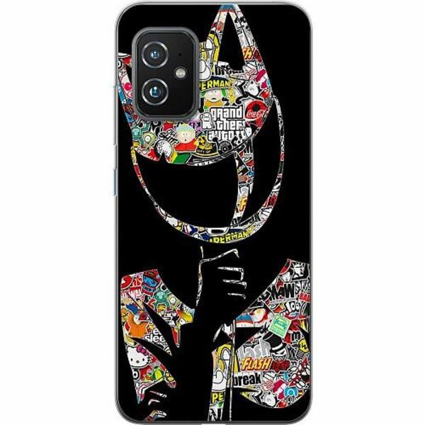 Asus Zenfone 8 TPU Mobilskal Stickers