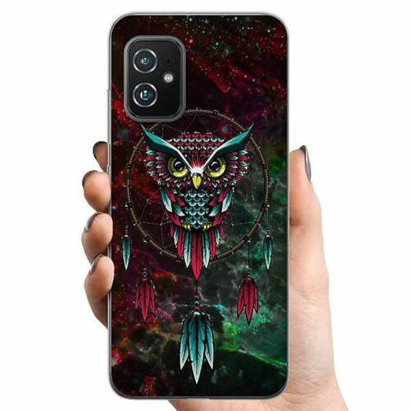 Asus Zenfone 8 TPU Mobilskal Uggla