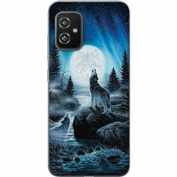 Asus Zenfone 8 TPU Mobilskal Wolf / Varg