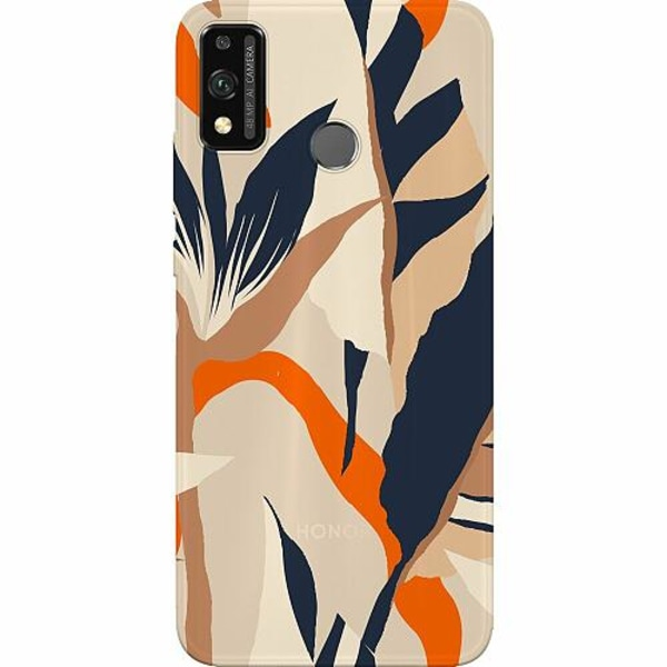 Huawei Honor 9X Lite Thin Case Powered By Beige