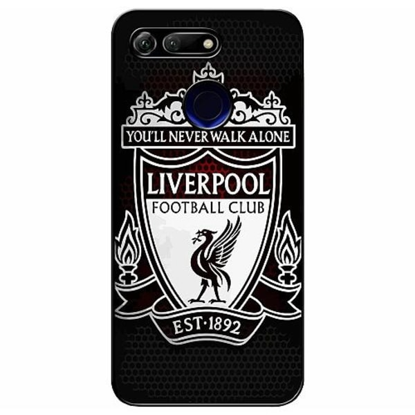 Huawei Honor View 20 Soft Case (Svart) Liverpool L.F.C.