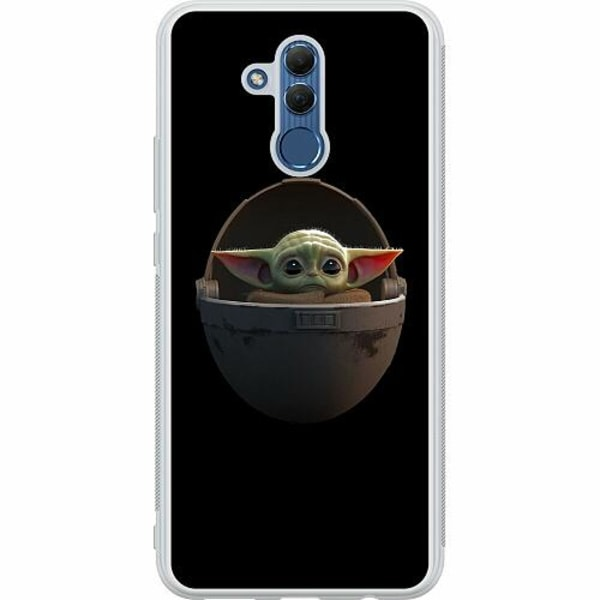 Huawei Mate 20 Lite Soft Case (Frostad) Baby Yoda