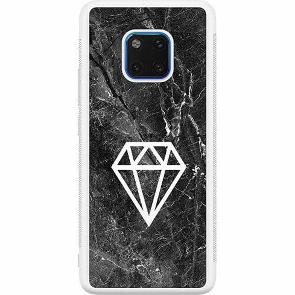 Huawei Mate 20 Pro Soft Case (Vit) Diamond