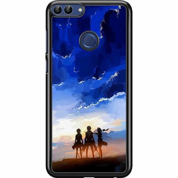 Huawei P Smart (2018) Hard Case (Svart) Attack On Titan