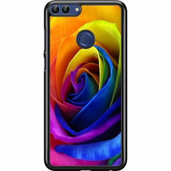 Huawei P Smart (2018) Hard Case (Svart) Blomma