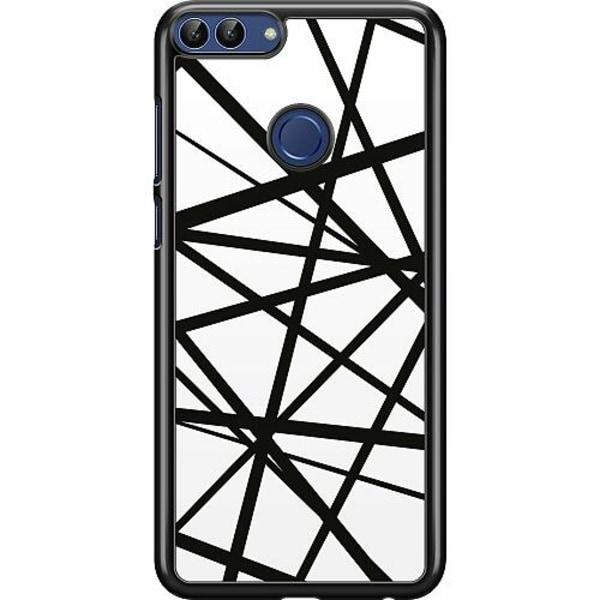 Huawei P Smart (2018) Hard Case (Svart) Caught In Webs