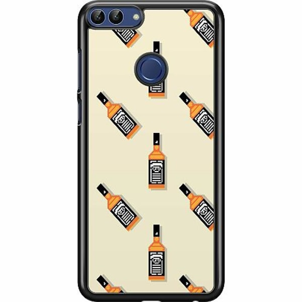 Huawei P Smart (2018) Hard Case (Svart) Öl