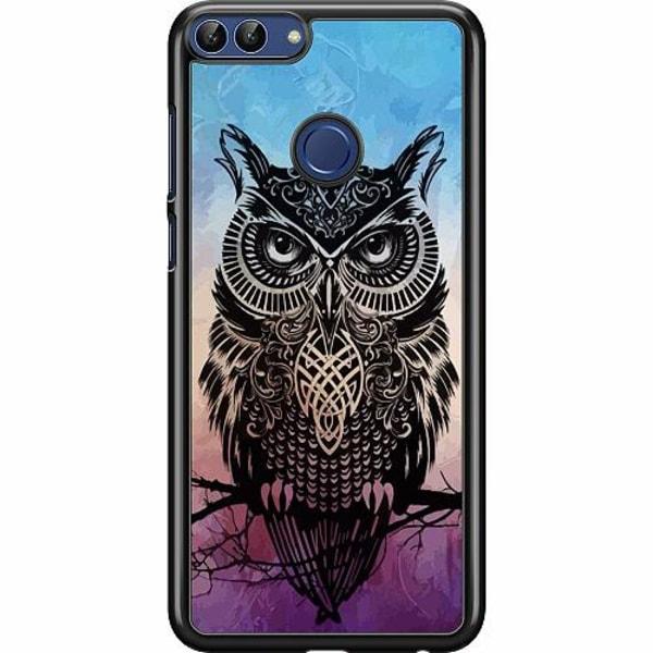 Huawei P Smart (2018) Hard Case (Svart) Owl